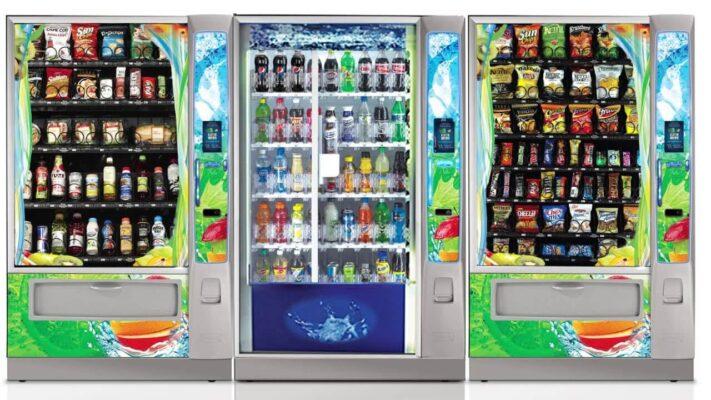 Hệ thống máy bán hàng tự động tại Mỹ