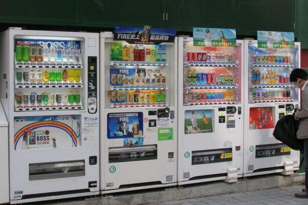 Hệ thống máy bán hàng tự động tại nhật bản