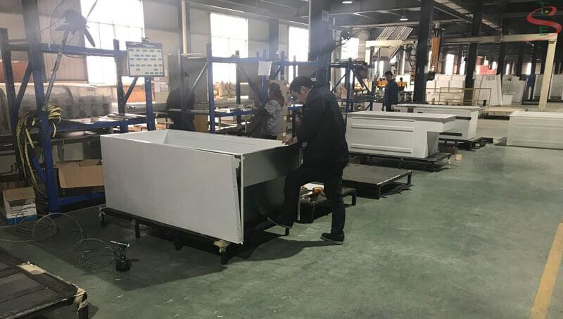 Quy trình lắp máy bán hàng tự động
