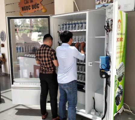 vận hành máy bán hàng tự động,máy bán hàng tự động, Vận hành máy bán hàng tự động thế nào để tiết kiệm thời gian mà vẫn đạt doanh số, TSE