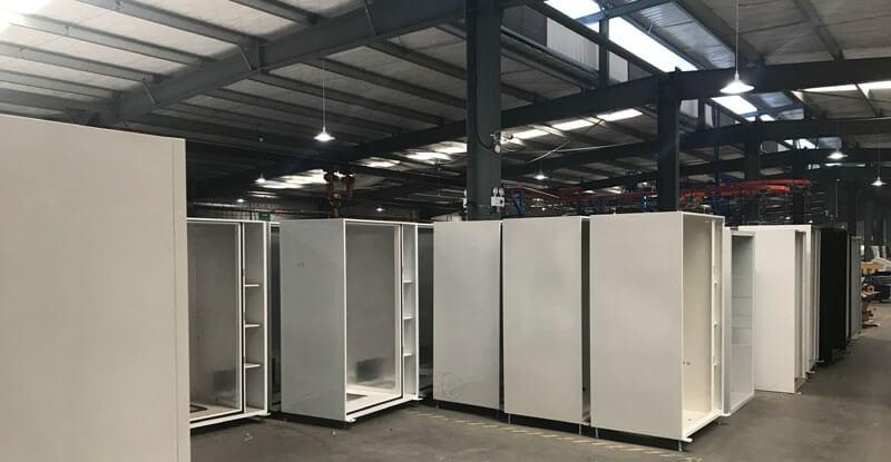 Nhà xưởng sản xuất máy bán hàng tự động