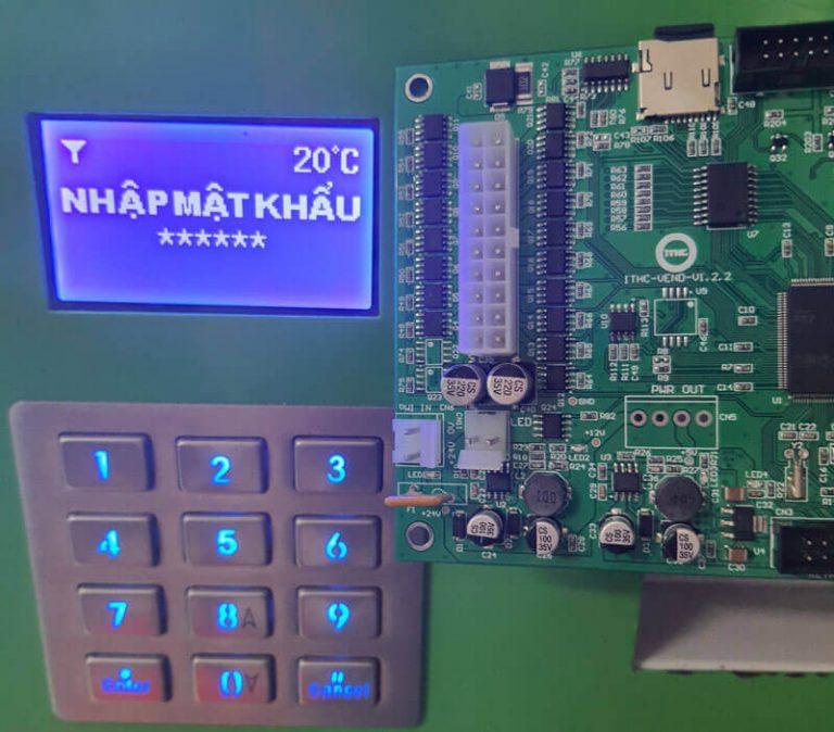 Bo mạch điều khiển máy bán hàng tự động Tsevending