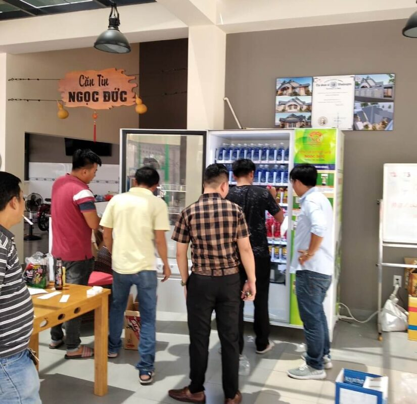 Hệ thống máy bán hàng tự động tsevending chuyên nghiệp
