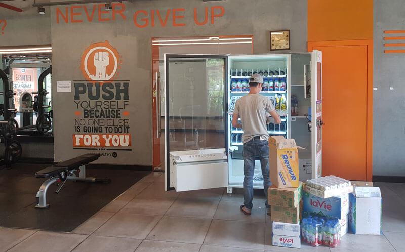 Lắp máy bán hàng tự động tại phong gym hồ chí minh ( hcm )