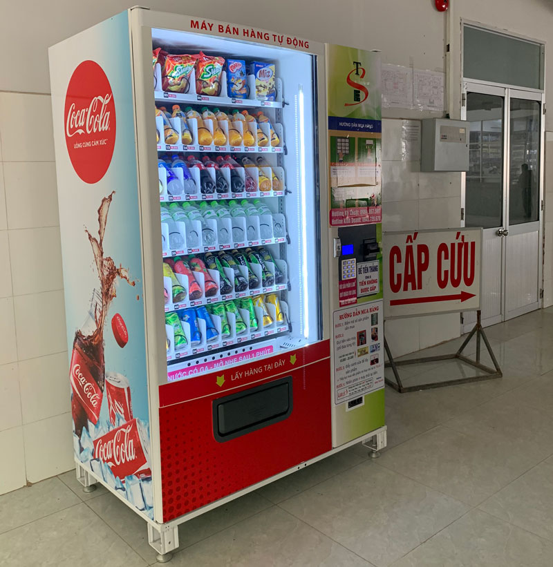 Mô hình kinh doanh máy bán hàng tại bệnh viện