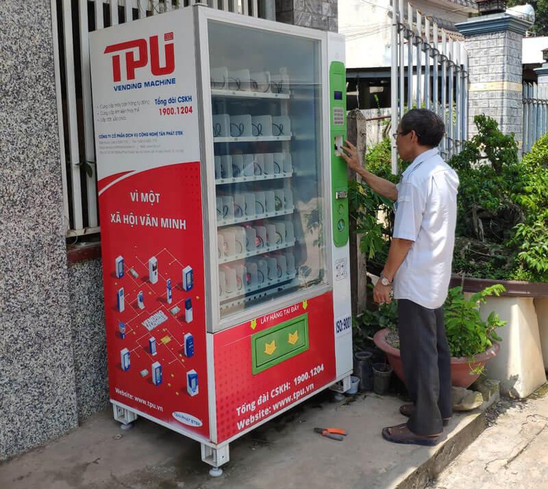 Mẫu máy bán nước ngọt tự động trên thị trường