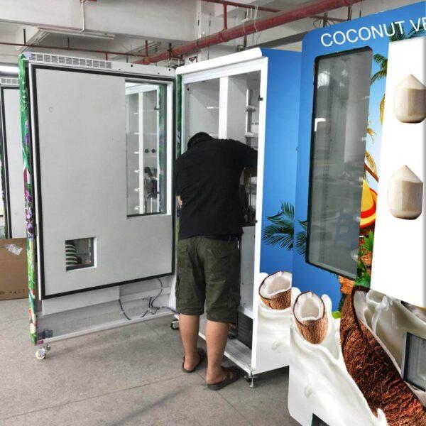 Mo hinh kinh doanh voi may ban dua tu dong ⭐⭐⭐⭐⭐ Nhà cung cấp máy Bán Hàng Tự Động, TSE Máy bán nước tự động Số 1