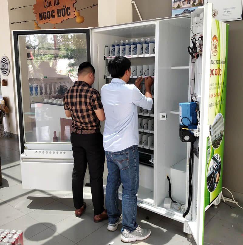 Sửa chữa máy bán nước tự động
