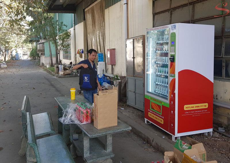 Kinh doanh máy bán hàng tự động tại Đồng Nai