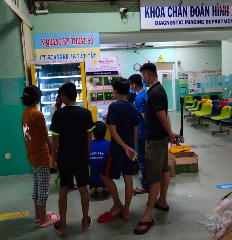 Kinh doanh máy bán nước tự động tại Bệnh viện