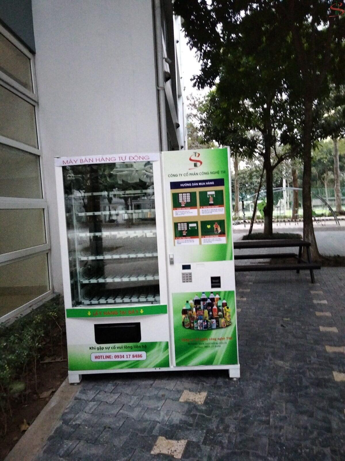 may ban hang tu dong tai hung yen 1 min ⭐⭐⭐⭐⭐ Nhà cung cấp máy Bán Hàng Tự Động, TSE Máy bán nước tự động Số 1