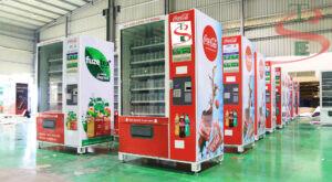 May ban nuoc ngot tu dong tse ⭐⭐⭐⭐⭐ Nhà cung cấp máy Bán Hàng Tự Động, TSE Máy bán nước tự động Số 1