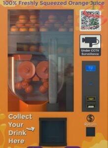 Máy bán nước cam tự động
