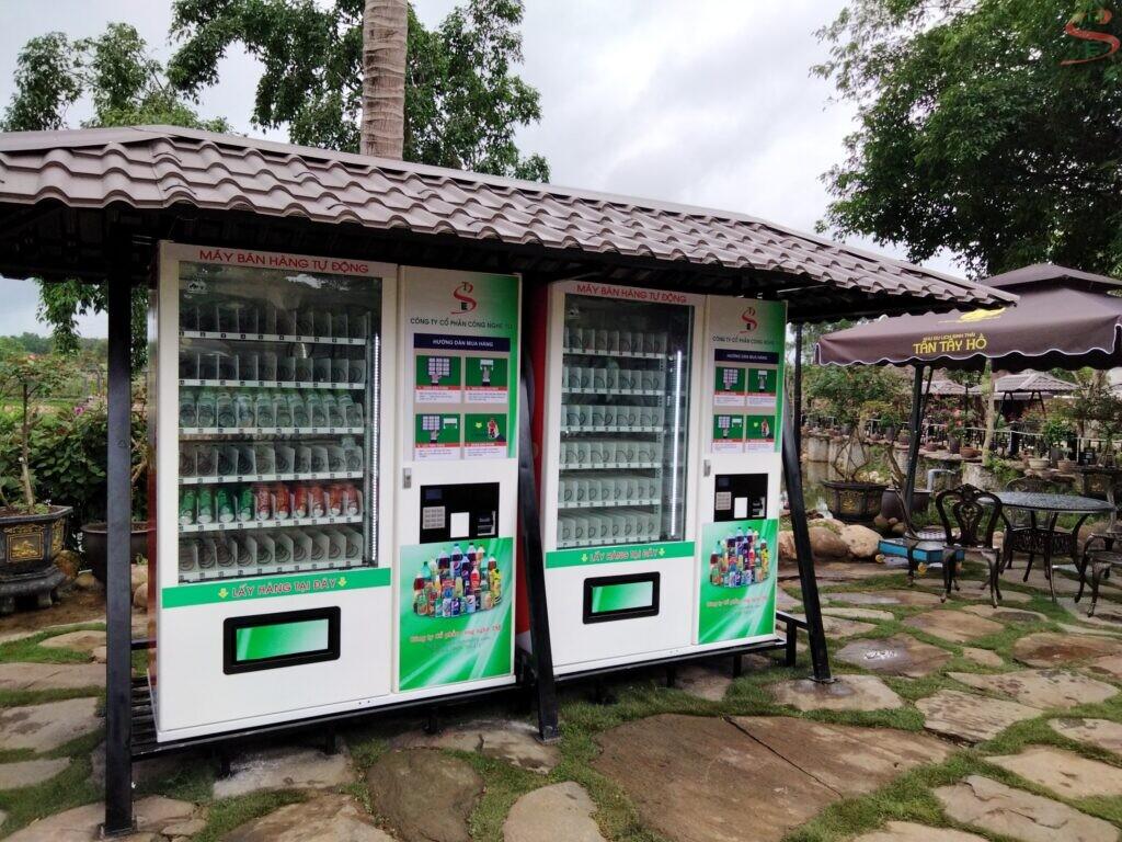 Thuê máy bán hàng tự động lỗ hay lãi