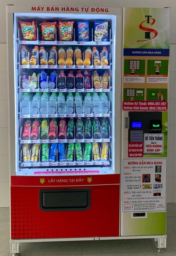 máy bán hàng bán được nhiều sản phẩm tự dodongj